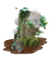 Tree Stump PNG.. by WelshDragonStockNArt