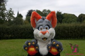 Grabby paws by FurryFursuitMaker