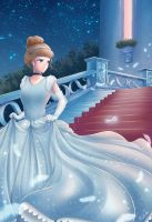 Fan art : Cinderella by nayumi-green