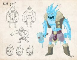 Frost Giant by LeMalinPotiron