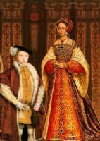 Edward VI and queen Jane by Lucrecia-89