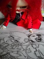 Grell Pullip 2 by akaroute
