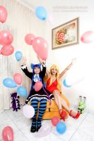 Anarchy sister's party::::::: by Witchiko