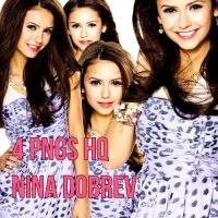 Nina Dobrev PNG Pack HQ by LulithaBrito