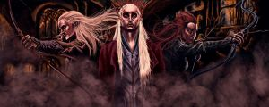 Elven Trinity by DiscoveringArtWorld