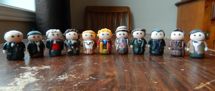 Doctor Who Mini Figures by Tabitha-Habitat