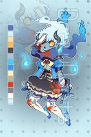 Ghost Gal Auction Adopt ::CLOSED:: by drawdopts