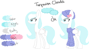Turquoise Clouds Ref by Arianstar