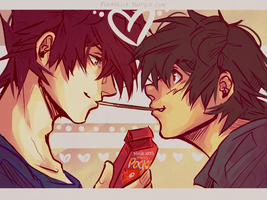 Pocky Games by FeraNelia