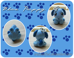 Blue Puppy by Crescentfied