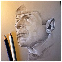 Spock by BikerScout