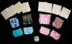Batch Of Diapers And bonnets going out by wiccanwitchiepoo