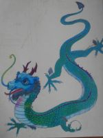 Magick chinese dragon by october84stardust