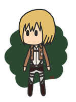 Attack on Titan - Armin Arlert ragdoll by WanderingBoredom