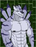 Enlarged WereGarurumon by WolfoxOkamichan