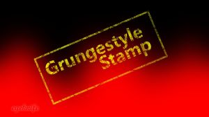 Grungestyle Stamp by eyeknife