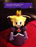 Paper Mario: The Thousand Year Door - Shadow Peach by lithharbor