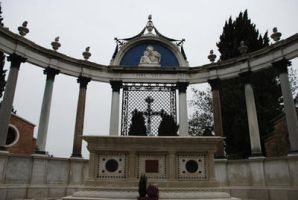 Cemetery _ Altar by SilvieT-Stock