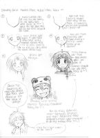 Manga School: Drawing Girls faces part 2 by Ani-maiden369