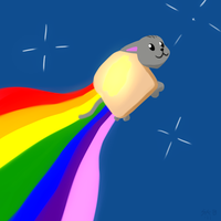 butter nyan by SteveKB