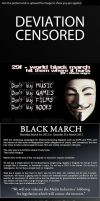 Black March ::SPREAD THE WORD:: by poketronex
