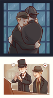 Sherlockspecial - We are together by GorryBear