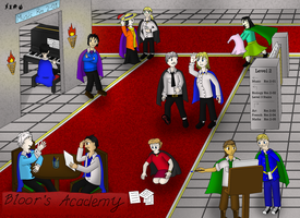 Bloor's Academy Staff by BrightScholar