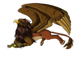 Griffon by PatrickleMorse