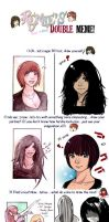 Double Meme with Doria-Plume by Sorina-chan