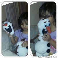 An Olaf for my daughter by jelc85