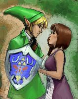link and nodame by Supremos-do-DA