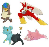 some pokes by Suguro
