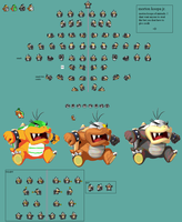 Morton koopa jr sprites by shadowsilverfox12