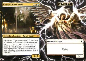 Geist of St. Traft + Angel by BlackWingStudio