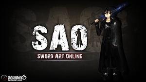 Sword Art Online Kirito Wallpaper by Christophere13