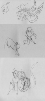 Sketches 23/02/2015 by Redbell9