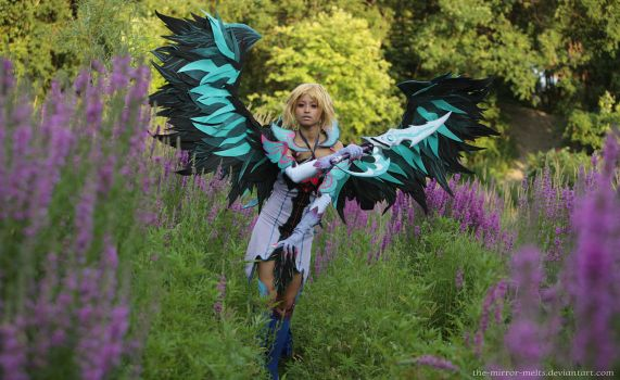 Aion cosplay III by the-mirror-melts