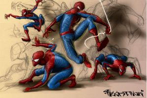 spideys by heckthor