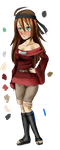 Ayano - New OC by Sparkle-arkle