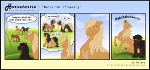 Horsetastic - Offspring by DolphyDolphiana