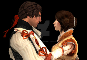 XNALara - Ezio and Cristina by HotaruAoi
