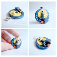 Little Nightmare pendant by caithness-shop