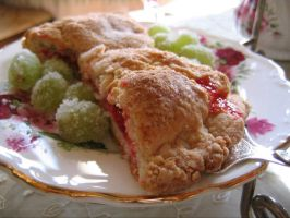 Scones and Sugared Grapes by subversiveplot