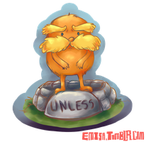 The Lorax charm by emisa