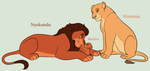 Lion King Family Adoptables 2 *CLOSED* by acornheart465