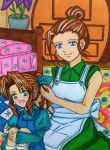 EoFF Final Fantasy VII moments: Elmyra and Aerith by dagga19