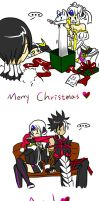 Merry Christmas and Happy New Year by zzoza