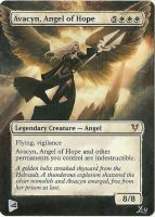 MTG Altered Art: Avacyn, Angel of Hope by LXu777