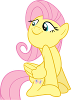 Fluttershy Being Adorable by blueblitzie