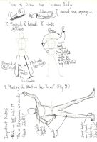 How to Draw the Human Body II by Primogenitor34